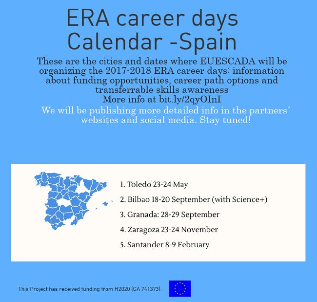 ERA Career Days Spain Dates