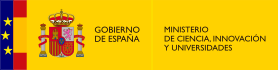 Spanish Ministry of Science Innovation and Universities