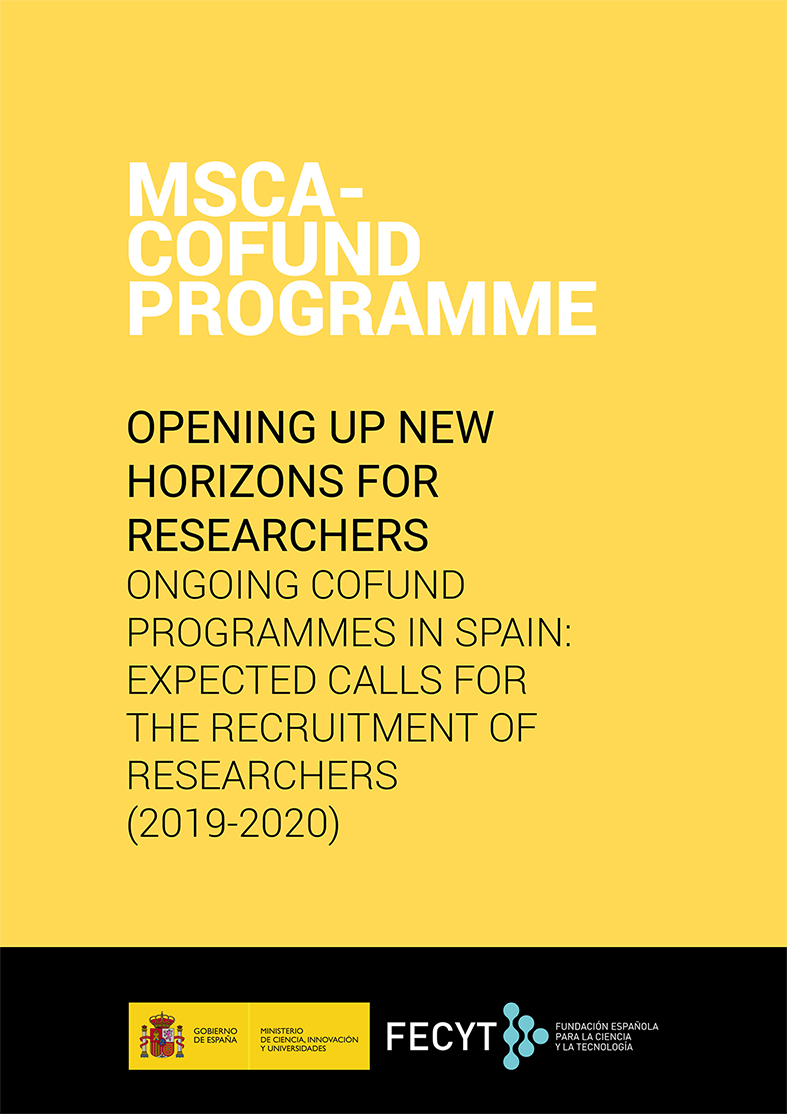 ONGOING MSCA COFUND SPAIN 2019
