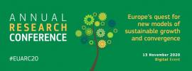 Image of (572809) Annual Research Conference 2020 - Europe's quest for new models of sustainable growth and convergence