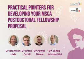 Image of (664855) Practical Pointers for developing your MSCA Postdoctoral Fellowship proposal