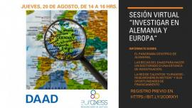 Image of (550965) Virtual session: Research in Germany and Europe