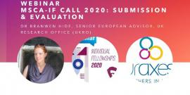 Image of (532150) Webinar for MSCA-IF 2020 applicants: Submission and Evaluation