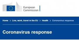 Snipped part of the European response website