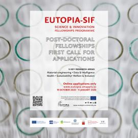 Image of (569639) 20 Postdoctoral positions available within the EUTOPIA Science and Innovation Fellowships Programme