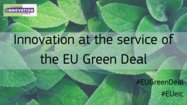 "Image of (546036) First ""Green Deal"" funding from European Innovation Council awards over €307 million to 64 startups set to support the recovery plan for Europe"