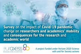 Image of (555929) Survey on the impact of Covid-19 on researchers' work and mobility