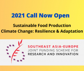Image of (653385) 7th Call of the Southeast Asia - Europe Joint Funding Scheme (JFS) Launched