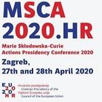 """Image of (492447) A Presidency conference """"MSCA 2020.HR: Marie Skłodowska-Curie Actions Impact and Future Challenges"""""""