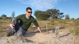 Dr Rotics in the Kalahari Desert