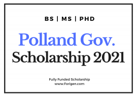 Image of (578984) Poland Government Scholarship 2021 for BS, MS, PhD Programs (For International Students) – Poland Łukasiewicz Scholarship 2021