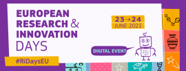 Research and Innovation Days 2021 logo