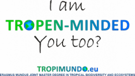 Image of (454144) Scholarships for Erasmus-Mundus Joint Masters Programme in Tropical Biodiversity and Ecosystems (Tropimundo)