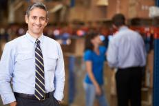 Portrait Of entrepreneur In Warehouse