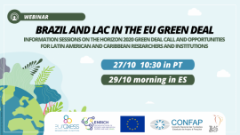 Green deal webinars LAC