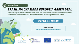 Image of (569526) Brazil in the European Green Deal call - Information session