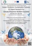 Image of (688006) Green Horizons, Sustainable Futures: EU-Japan Research for Climate-Prepared, Resilient Societies