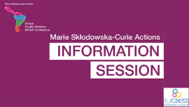 Info session MSCA 2021