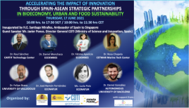 Image of (646140) Accelerating the Impact of Innovation through SPAIN-ASEAN Strategic Partnerships in Bioeconomy, Urban and Food Sustainability