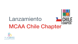 Lanzamiento MCAA Chile Chapter