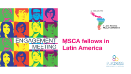 MSCA fellows in Latin America Engagement meeting
